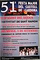Cartell de la 51ena Festa Major del Castell de Cardona 2017.jpg