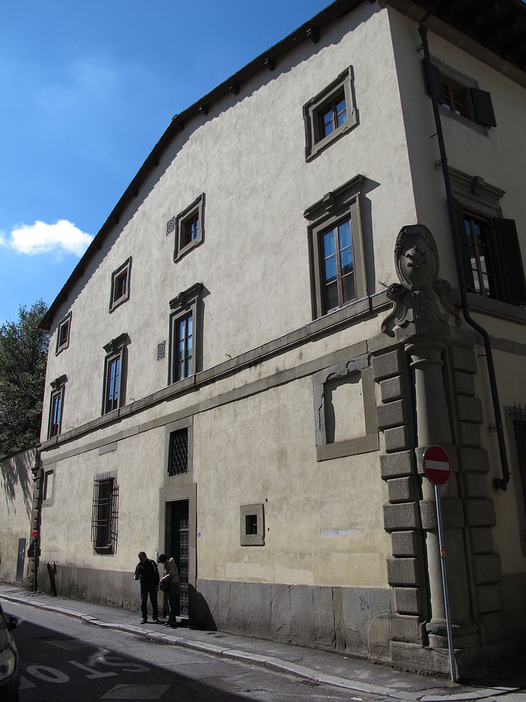 File casa di andrea del sarto fiancata 01 jpg wikipedia for Casa di 750 m