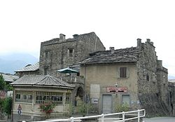 Castle of Chianocco.