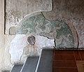 Castiglione olona, palazzo branda, interno, salone, trigramma di cristo, del 1420-50 ca., e moro.jpg