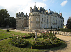 Nicolay (family) - Chateau du Lude.  Home of Count and Countess Louis-Jean de Nicolaÿ