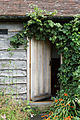 Castle Richborough Fort visitor centre door Richborough Kent England.jpg