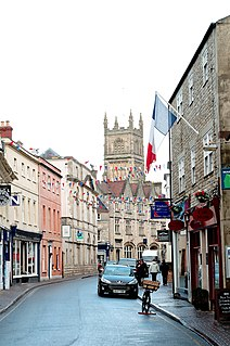 Cirencester market town in east Gloucestershire, England