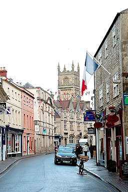 Castle Street i Cirencester