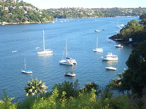 Castlecrag, New South Wales - Middle Harbour, view from Castlecrag