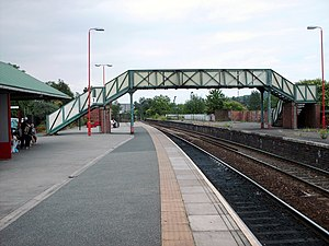 Castleford railway station - Platform 1