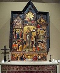Retaule de Sant Joan Baptista (Borrassà)
