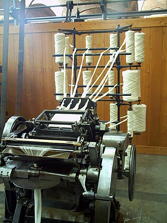 Textile manufacturing - A Combing machine