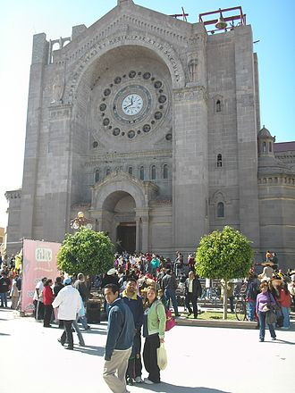 Matehuala - Cathedral of Immaculate Conception in Matehuala