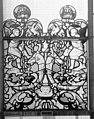 Cathédrale - Vitrail, Chapelle Saint-Joseph, Vie de saint Romain, lancette de gauche, premier panneau, en haut - Rouen - Médiathèque de l'architecture et du patrimoine - APMH00031308.jpg