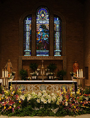 Roman Catholic Diocese of Tyler - Interior of the Cathedral of the Immaculate Conception in Tyler