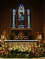 Cathedral of the Immaculate Conception, Altar, Easter 2013.jpg
