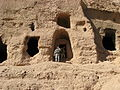 Caves near the Buddhas of Bamiyan.jpg