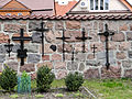 Cemetery in the courtyard of Basilica of the Nativity of St. Mary and St. Nicholas in Bielsk - 04.jpg