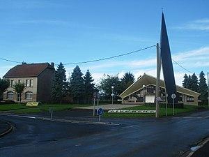 Givenchy-lès-la-Bassée - The centre of Givenchy-lès-la-Bassée