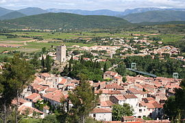 A general view of Cessenon-sur-Orb