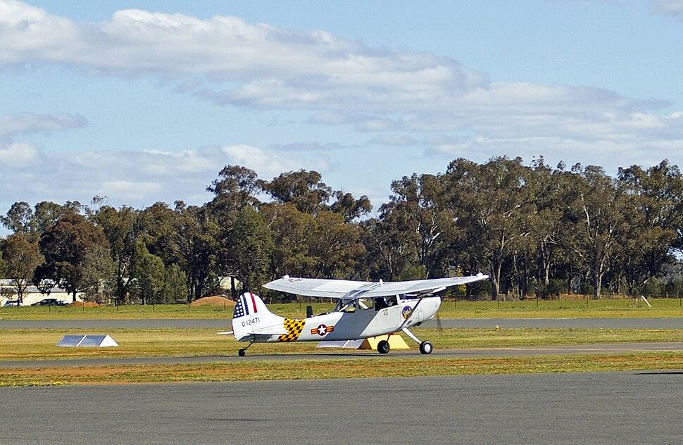 Cessna O-1G Bird Dog (305D) - 0-12471 (VH-FXY)