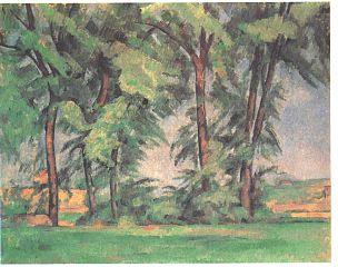 Les grands arbres au Jas de Bouffan