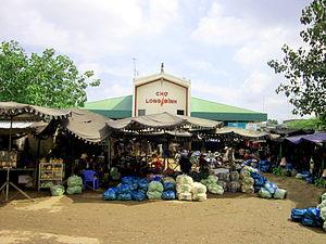Long Bình, An Giang - Image: Chợ Long Bình