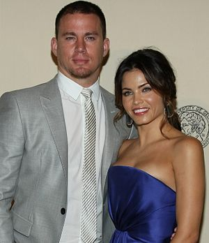 Channing Tatum - Tatum and his wife Jenna Dewan at the 71st Annual Peabody Awards Luncheon 2012