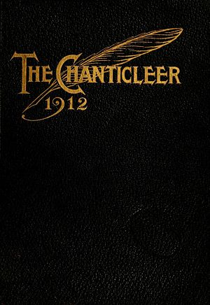 The Chanticleer (yearbook) - Image: Chanticleerseria 1912duke