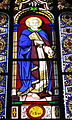 Chapel of the Immaculate Conception (University of Dayton) - stained glass, Saint Peter.JPG