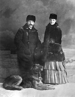 Charles Fleetford Sise and his wife.jpg