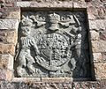 Charles II coat of arms, Gorey Castle - geograph.ci - 325.jpg