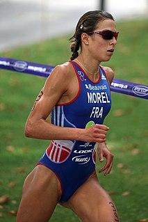 Charlotte Morel triathlete