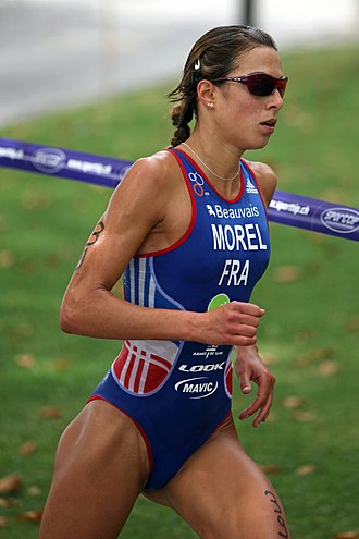 Charlotte Morel - Charlotte Morel, bronze medalist at the Military Triathlon World Championship in Lausanne, 2012.