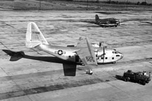 Chase XCG-20 - The XC-123 (s/n 47-786) in 1949.