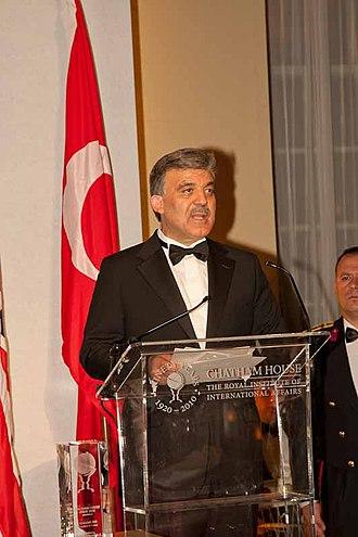 Abdullah Gül - Abdullah Gül in 2010.