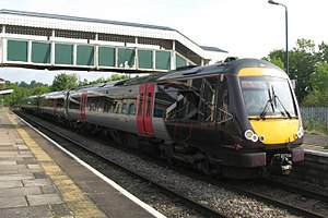 Chepstow railway station - A CrossCountry service from Nottingham to Cardiff