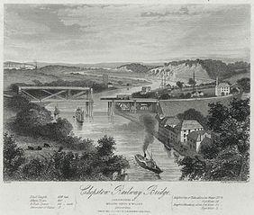 Chepstow railway bridge