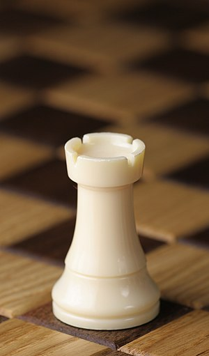 Rook (chess) - White rook