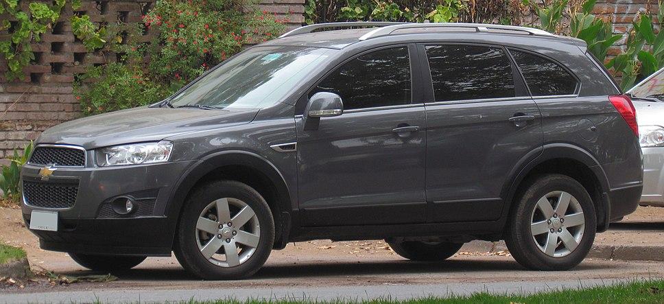 Chevrolet Captiva Howling Pixel