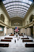 Chicago (ILL) Union Station, great Hall, 1925