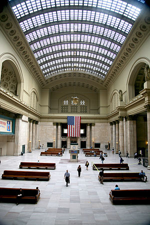 Lucien Lagrange - Union Station (Chicago), renovated in 1992 by Lucien Lagrange & Associates