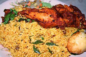 Biryani - Image: Chicken Biryani