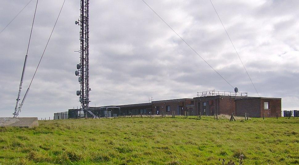 Chillerton transmitter station, IW, UK