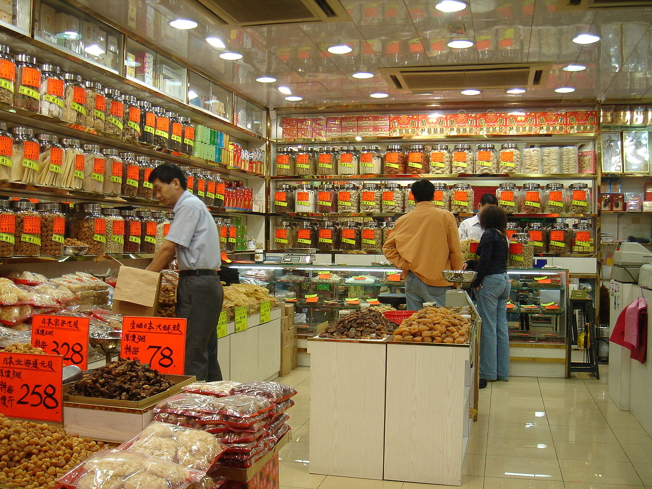 Grocery Store Chinese Kitchen Layout