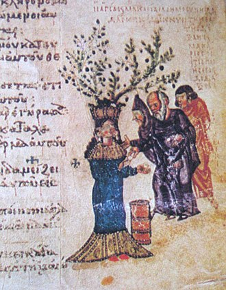 Byzantine illuminated manuscripts - Image: Chludov charity