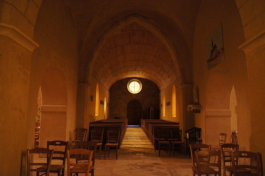 Choeur Église de l'Assomption Angoville-sur-Ay