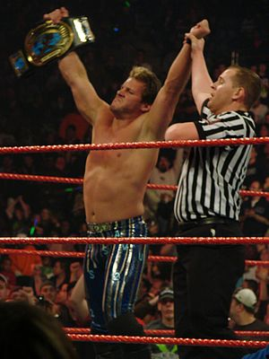 Unforgiven (2004) - Chris Jericho defeated Christian in a Ladder match to win the vacant Intercontinental Championship