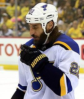 Chris Thorburn Canadian ice hockey player