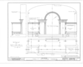 Christ Episcopal Church, Broad Street and Sycamore Avenue, Shrewsbury, Monmouth County, NJ HABS NJ,13-SHREW,1- (sheet 15 of 19).png