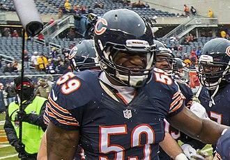 Christian Jones (American football) - Jones with the Chicago Bears in 2014
