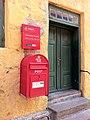 Christiansø - postkasse på Østre Længe.jpg