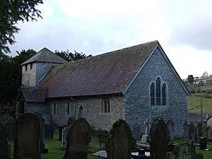 Church of St Dubricius, Gwenddwr - geograph.org.uk - 713236.jpg