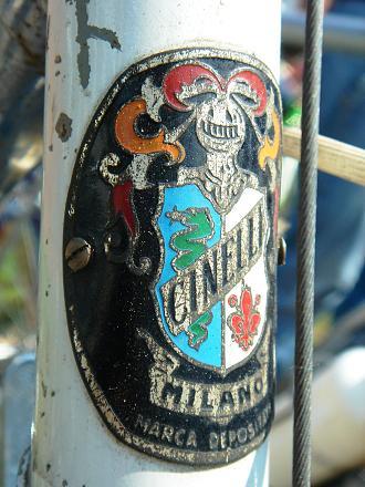Cinelli - Cinelli head badge